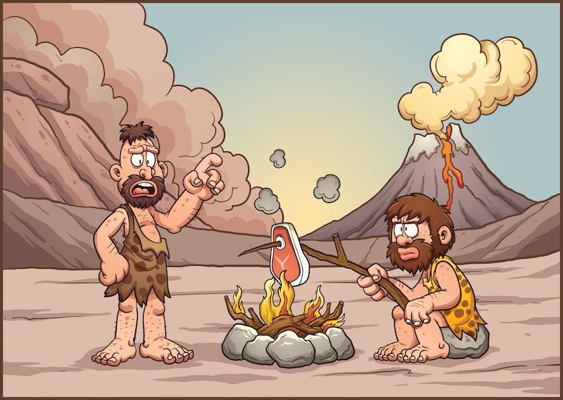 Caveman + Fire